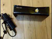 XBox 360 with cable but no hard drive great for spares