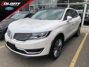 2018 Lincoln MKX | DEMO | 0% O.A.C. | AWD | Leather | Navi | Roo