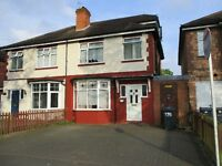 This is a four beds family house to rent in Hall Green ,newly refurbished driveway