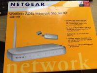 Netgear wireless ADSL modem router 54 Mbps