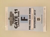 4 Goodwood Revival Tickets and exclusive Lavant Bank Pre-1966 Parking for Saturday 9th