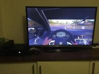 Xbox one + jvc tv