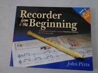 Recorder from the beginning by John Pitts – Books 1 and 2