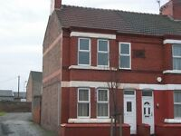 3 bed end terrace fully modernised house for rent