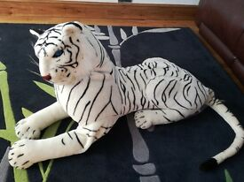 Tiger soft toy large