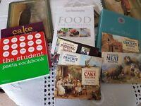 Joblot of cookbooks