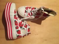 New Converse Size 3 Trainers Limited Edition Cost £75