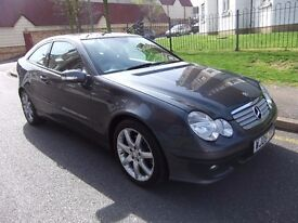 Mercedes-Benz C Class 1.8 C180 Kompressor SE 2dr Coupe