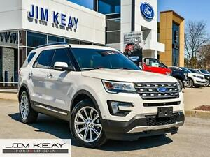2016 Ford Explorer LIMITED*2.3L ECOBOOST*DUAL PANEL MOONROOF*CLA