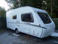 ABBEY G. T. S 215 2008 CARAVAN SUPERB CONDITION WITH MOTOR MOVER AND AWNING