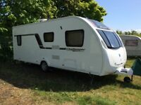 Swift Challenger Sport 554 (2012) 4 berth caravan