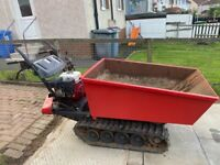 Honda td 500 track dumper barrow