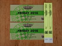 Goodwood Revival Tickets for Friday 9th September 2016 & Child Entry Wristbands