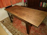 G Plan Mid 70s Design Dining Table and six chairs - Suitable for renovation