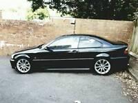 M sport bmw e46 318ci coupe in black 2.0 petrol. Not 330ci,320ci,325ci,vw,tt,a4