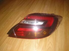 Lamp vauxhall insignia back right