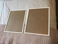 Large white frames for photographs / collage