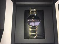 Rado men's Gold, Diamond and Ceramic Watch.