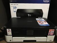 BROTHER A4 Multifunction inkjet with A3 bypass tray