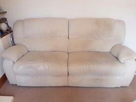 3 seater LAZY BOY electric reclining sofa
