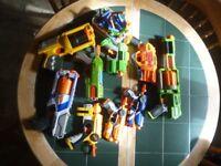 nerf guns start a war