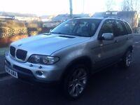 2005 BMW X5 3.0 i SE SILVER FACELIFT 07522247468