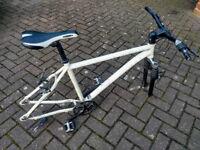 Aluminium bike frame MFX Phatsta