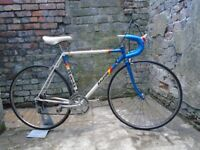 Vintage Raleigh road race bike