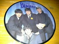 THE BEATLES. 45 RPM Pictured vinyl. A Hard Days Night.
