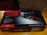 "Brand New Heavy Duty 1/4"" Chicago Pneumatic Air Ratchet"