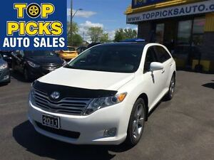 2011 Toyota Venza XLE V6, AWD, LEATHER, PANORAMIC SUNROOF, ONLY
