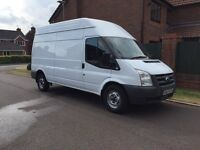Ford Transit MWB High Roof, White, 126000 miles, 2 Owners from new