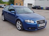 Audi A3 S line, Beautiful Car,3 Months Warranty,Long Mot, Hpi Clear 4495 Ono