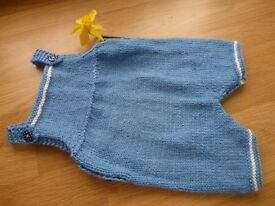 Reduced! Hand Knitted Baby Rompers 0 - 3 months