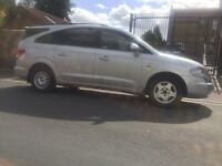 Sang young Rodius , 2.7 diesel , 1 years mot , drive excellent