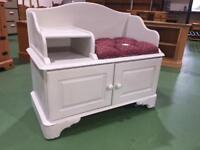 Westminster pine painted telephone table