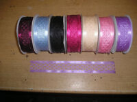 Rolls of Criss Cross Ribbon all new x 70 rolls different colours see advert