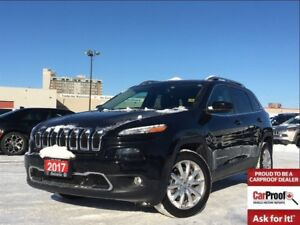 2017 Jeep Cherokee LIMITED**LEATHER**NAVIGATION**TECHNOLOGY GROU