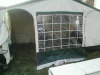 Conway royale dl trailer tent 4 berth plus pup tents