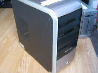 pc tower only amd athlon 64 windows 7 in working order