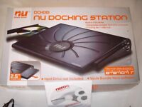 NU Netbook Docking & Cooling Station with Cooling Fan USB Hub, DVD Writer & HDD Enclosure