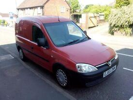 Vauxhall Combo Van 1.3 Ctdi, 93k miles Good MOT, great condition.