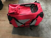 Folding Fabric Portable Pet carrier