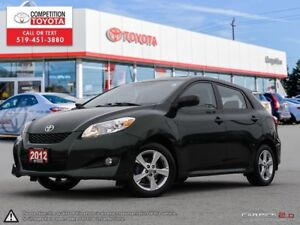 2012 Toyota Matrix Touring Package, One Owner, No Accidents,...