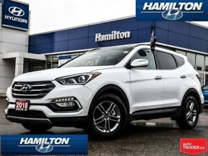 2018 Hyundai Santa Fe Sport | SE | AWD | ALLOYS | LEATHER | ROOF