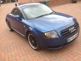 audi tt 1.8t 2004 54 plate leather good condition 2150 pounds