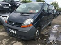 2003 RENAULT TRAFIC SL27DCI SWB (MANUAL DIESEL)- FOR PARTS ONLY