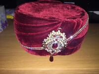 Mens asians wedding hat pagdi
