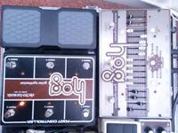 Electroharmonix Harmonic Octave Generator + foot controller