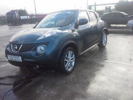 **For breaking** Nissan Juke Acent 1.5 diesel, 6 speed (2014).